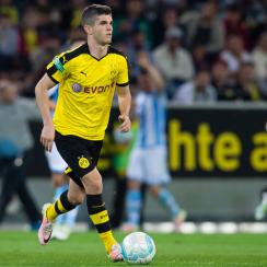 Borussia Dortmund and USA rising star Christian Pulisic