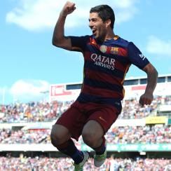 Luis Suarez the hero for Barcelona in its season finale vs. Granada
