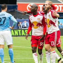 The New York Red Bulls put a seven spot on NYCFC in an MLS rivalry bout