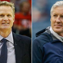 Steve Kerr and Pete Carroll