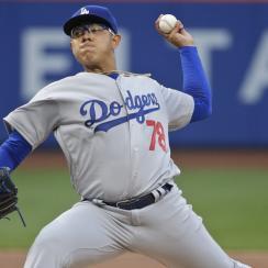 julio urias dodgers major league debut