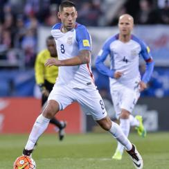 USMNT's Clint Dempsey scores the 50th goal of his international career