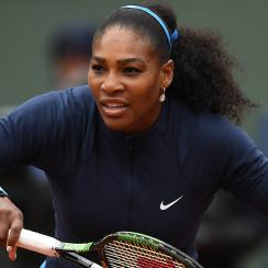 serena williams french open yulia putintseva results scores roland garros