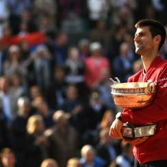 novak djokovic french open final reaction