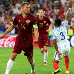 Russia scores a late equalizer to draw England at Euro 2016