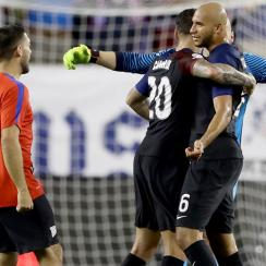John Brooks was a star for the USA vs. Paraguay at Copa America