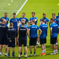 Iceland will look to continue its magical run in Euro 2016