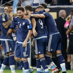 Messi and Argentina crushed the USA in the Copa America semifinals