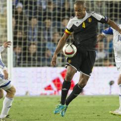 Belgium and Manchester City center back Vincent Kompany