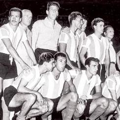 Argentina's 1957 South American championship team