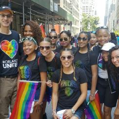 adam silver nba lgbt pride parade