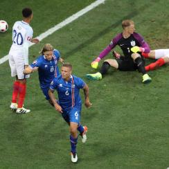 England faces Iceland in the Euro 2016 round of 16