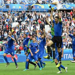 Italy beats Spain in the Euro 2016 round of 16
