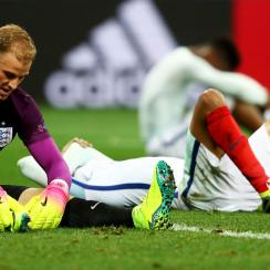 A dejected Joe Hart after England's Euro 2016 loss to Iceland