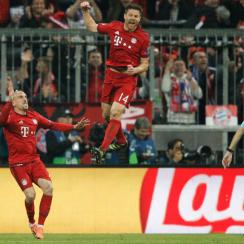 Xabi Alonso provides expertise in Bayern Munich's midfield