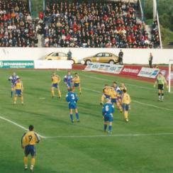 Iceland vs. Ukraine in a Euro 2000 qualifier in 1999