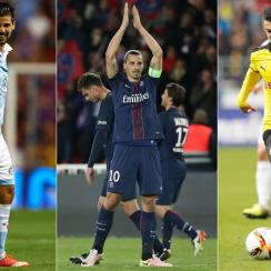 Nolito, Zlatan Ibrahimovic and Henrikh Mkhitaryan are on the move during the summer transfer window