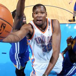 Kevin Durant joins the Warriors