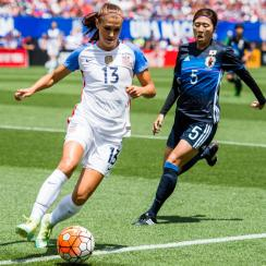Alex Morgan stars for the USWNT vs. Japan