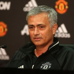 Jose Mourinho is introduced at Manchester United