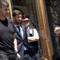 Messi and his father were found guilty of tax fraud by a Spanish court