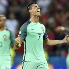Cristiano Ronaldo and Portugal are off to the Euro 2016 final