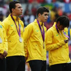 Neymar and Brazil fell short of the gold medal at the 2012 Olympics, earning silver after a loss to Mexico