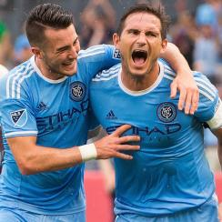 Frank Lampard scored a hat trick for NYCFC vs. the Colorado Rapids