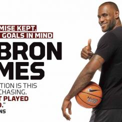 LeBron James and the ghost of Michael Jordan