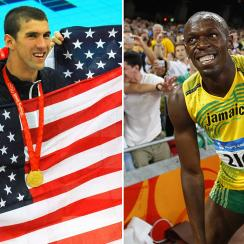 Olympics: Usain Bolt, Michael Phelps intertwined since Beijing.