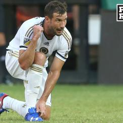 Philadelphia Union star Chris Pontius scored against D.C. United