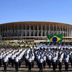 Brasilia's Estadio Nacional Mane Garrincha is mostly unused after being built for the World Cup