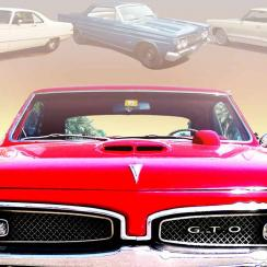 Muscle cars graphic