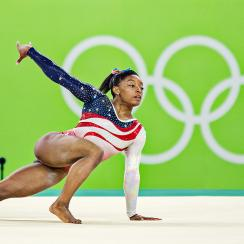 Simone Biles stands alone at 2016 Rio Olympics