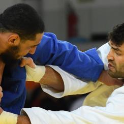 egypt israel judo hand shake