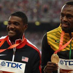 Justin Gatlin, Usain Bolt