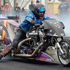 Nitro Harley rider
