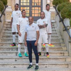AS Roma is attempting to regain glory in Italy and Europe