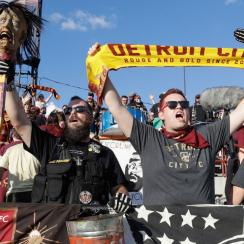 Detroit City FC supporters