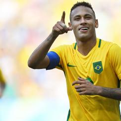 Neymar leads Brazil to the gold medal game at the Rio Olympics