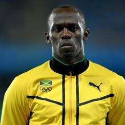 usain bolt jamaica relay gold medal