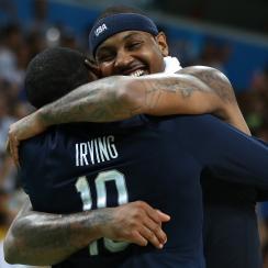 carmelo anthony retiring usa basketball gold medal