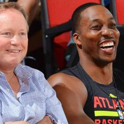 Mike Budenholzer and Dwight Howard
