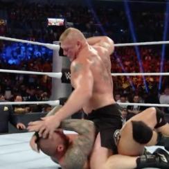 Brock Lesnar, Chris Jericho fight at SummerSlam
