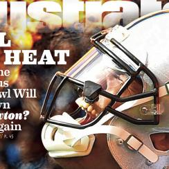 carolina panthers cam newton sports illustrated cover