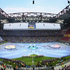The Champions League final between Atletico Madrid and Real Madrid