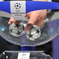 The Champions League draw takes place in Monaco