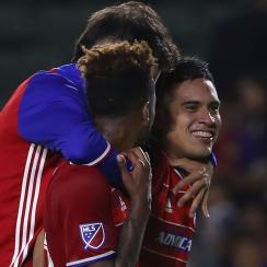 FC Dallas's Victor Ulloa is part of the club's strong homegrown contingent