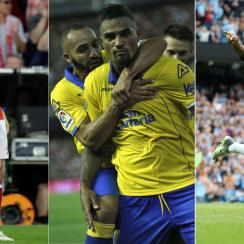 Roberto Lewandowski, Kevin Prince Boateng and Raheem Sterling are off to hot starts around Europe