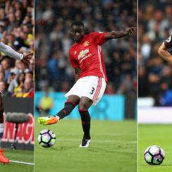 MIchy Batshuayi, Eric Bailly and John Stones made three of the biggest moves of the transfer window